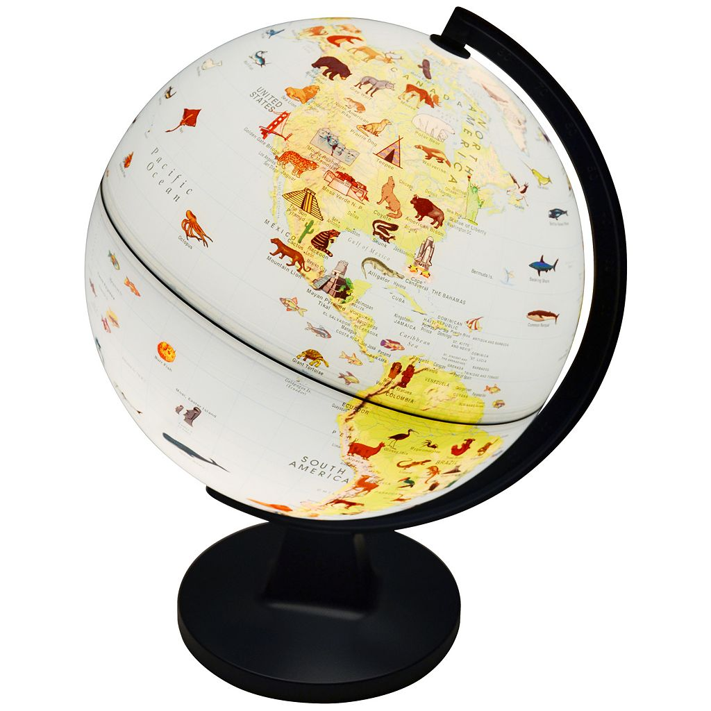 Elenco Wildlife Globe