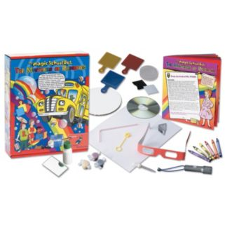 The Young Scientists Club The Magic School Bus: Mysteries of Rainbows Science Kit