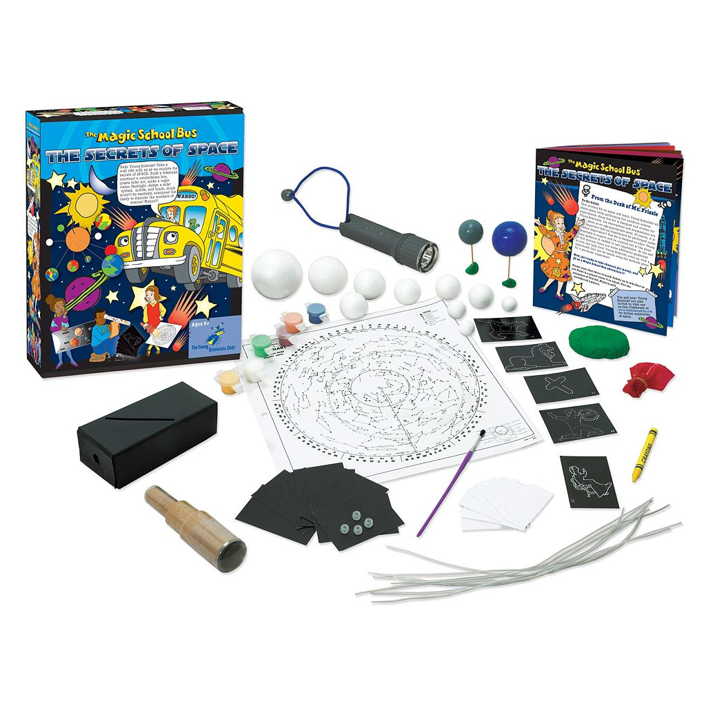 The Young Scientists Club The Magic School Bus: Secrets of Space Science Kit
