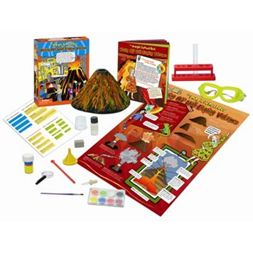 The Young Scientists Club The Magic School Bus: Blasting off with Erupting Volcanoes Kit