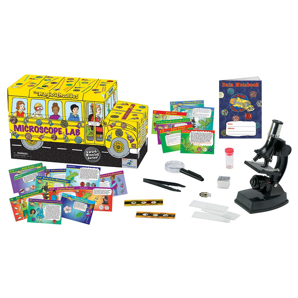 The Young Scientists Club The Magic School Bus: Microscope Lab