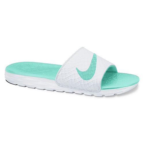 23d3a9b62e4a Nike Benassi Women s Solarsoft Slide Sandals