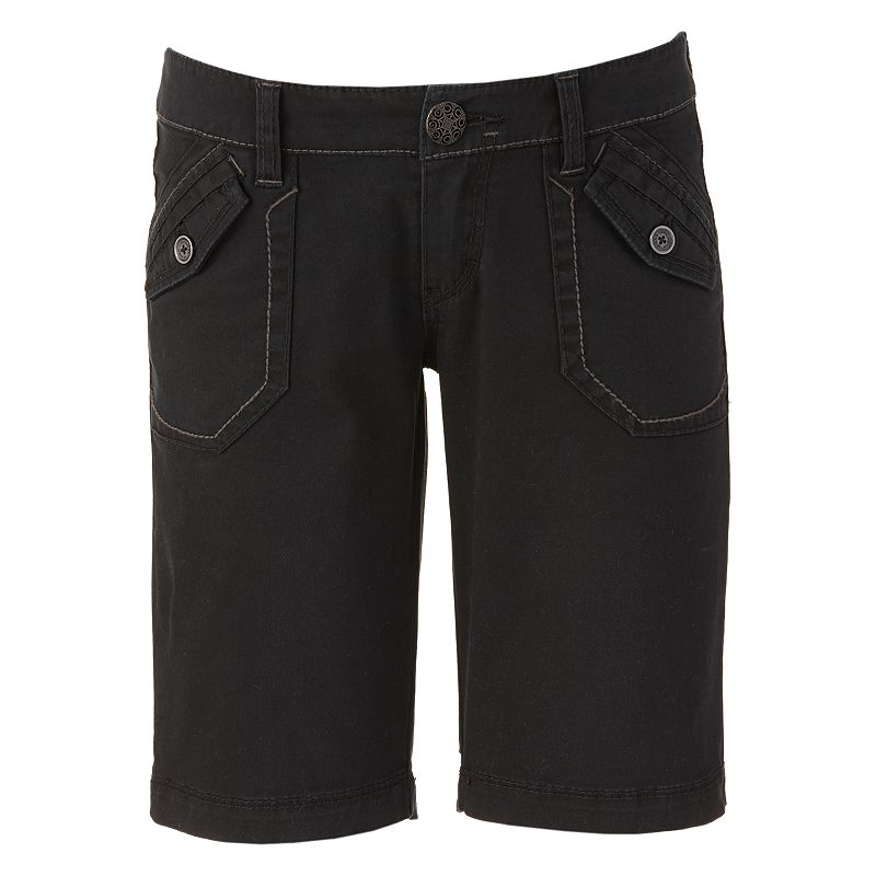 Plaid bermuda shorts have summertime fun written all over them. Add a little ombre coloring and you can't get more modern in fashion! Your son is sure to enjoy looking a lot like Dad on the golf course, spending time outdoors, and more importantly, performing in breathable, UV protective clothing.