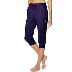 Women's Champion Jersey Banded Yoga Capris