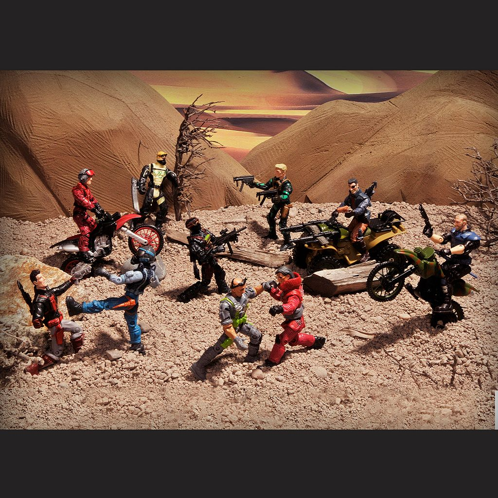 The Corps Special Forces Action Figure and Vehicle Deluxe Set
