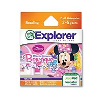 Disney Mickey Mouse & Friends Minnie Mouse Bow-tique Super Surprise Party! Explorer Learning Game by LeapFrog