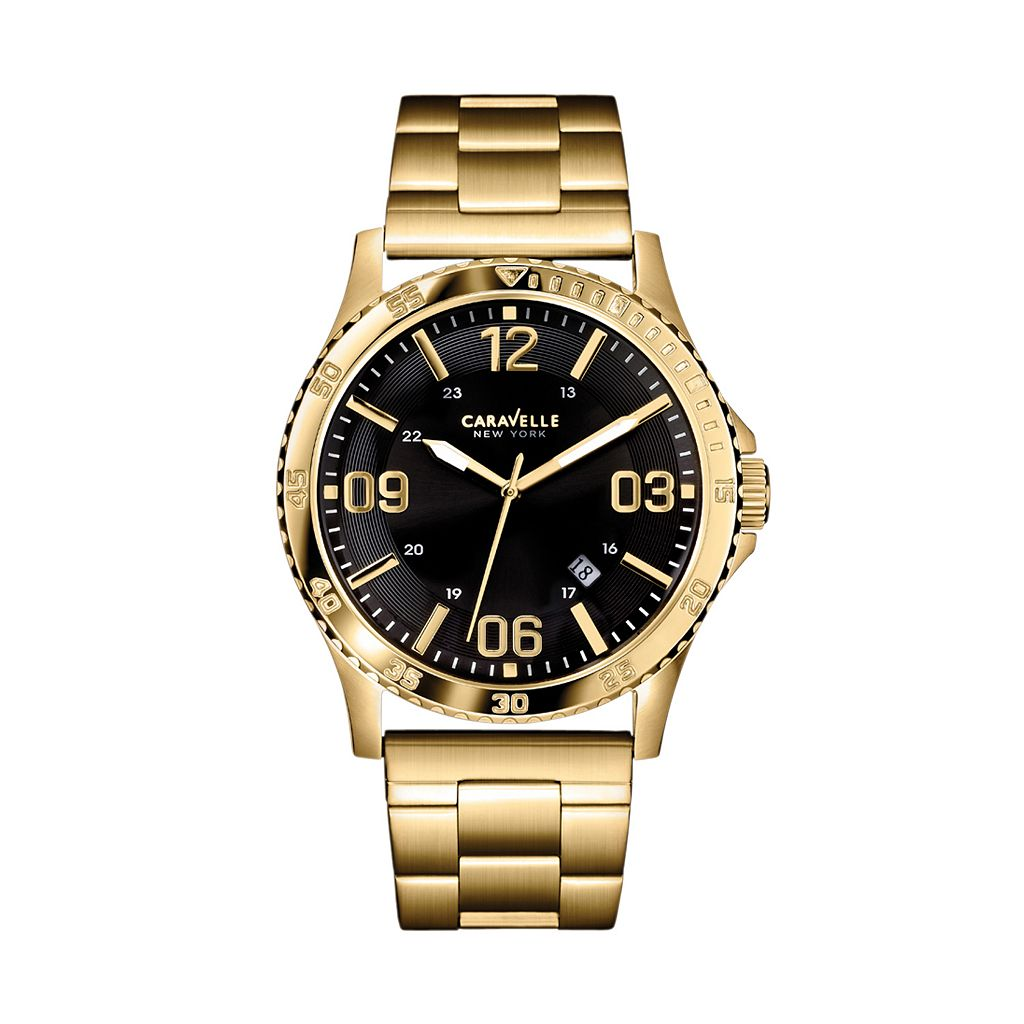 Caravelle New York by Bulova Men's Stainless Steel Watch - 44B104