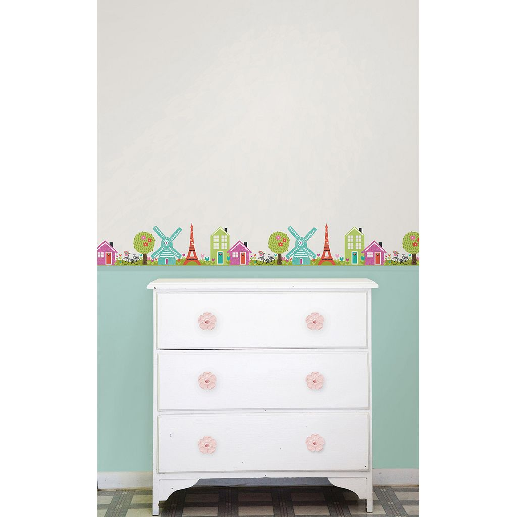 WallPops Dilly Dally Stripes Wall Decals