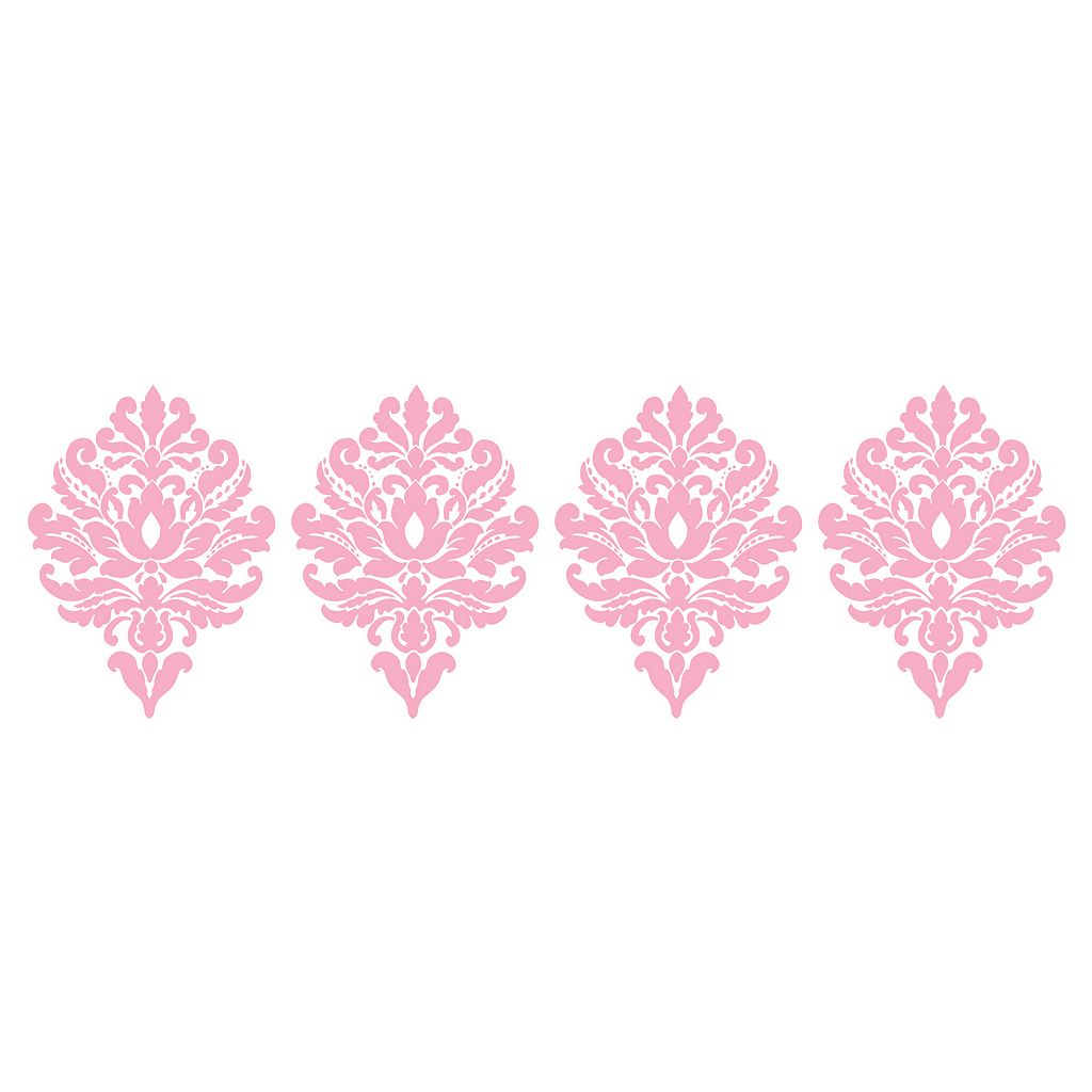 WallPops Damask Wall Decals