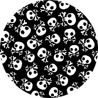 WallPops Argh Pirates Dots Wall Decals