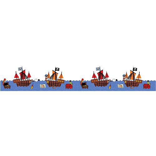 WallPops Argh Pirates Stripes Wall Decals