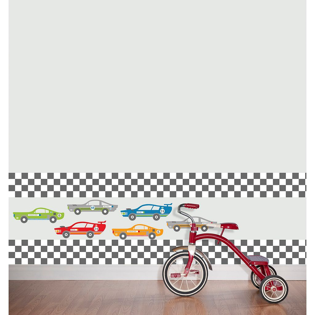 WallPops Rally Racers Stripes Wall Decals