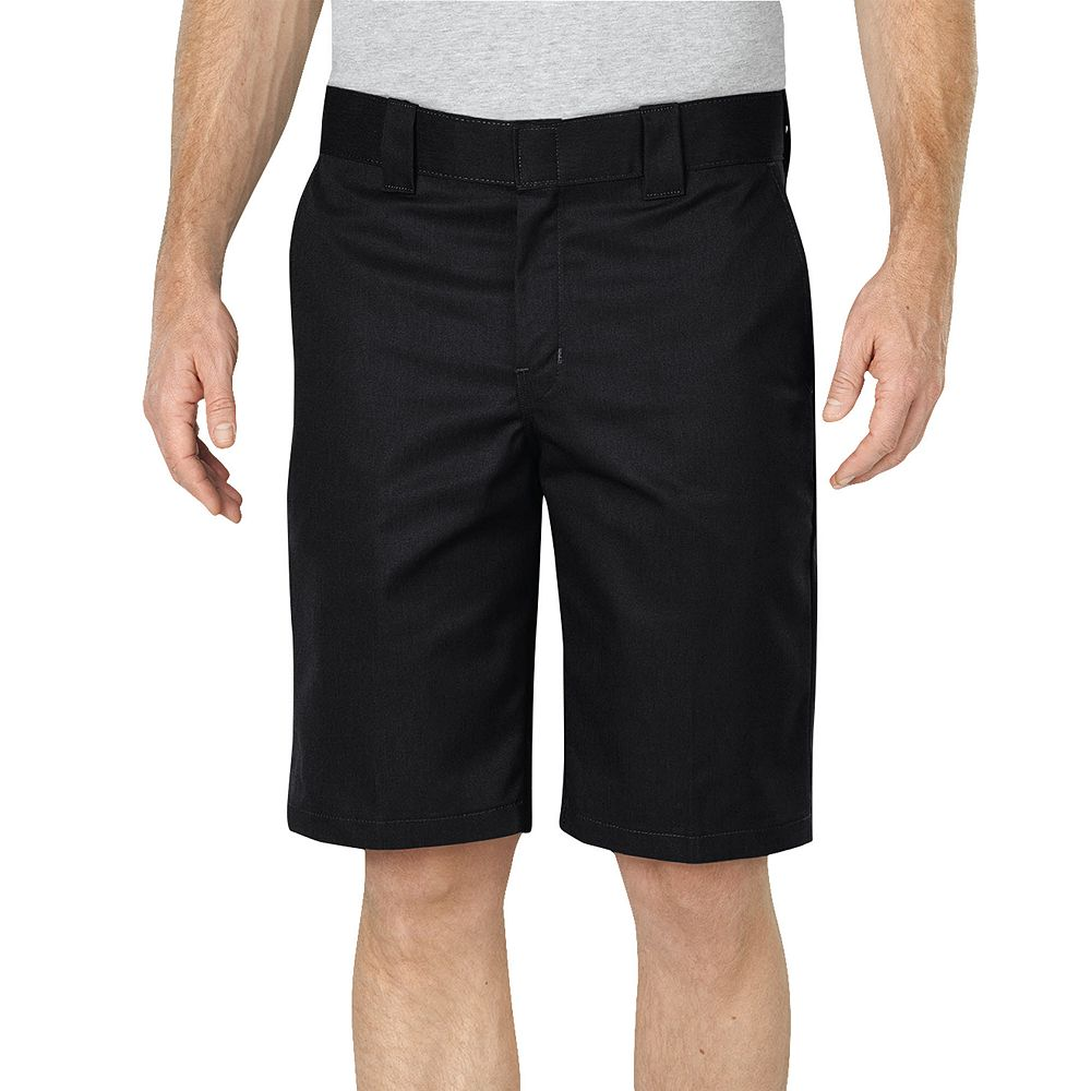 Dickies Black Relaxed-Fit Flex Fabric Work Shorts