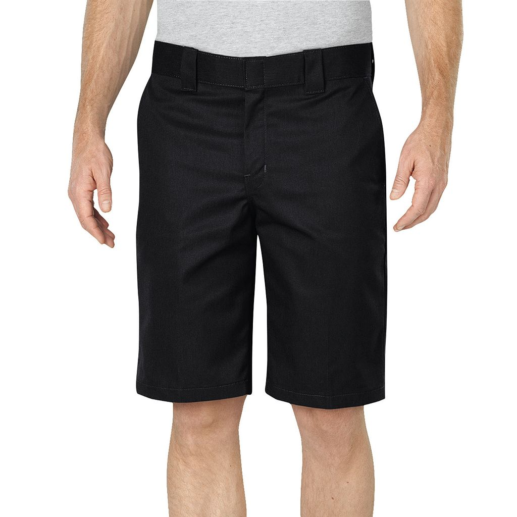 Men's Dickies Black Relaxed-Fit Flex Fabric Work Shorts