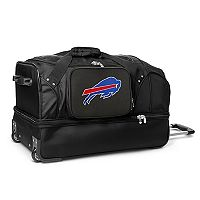 Buffalo Bills 27-in. Wheeled Drop-Bottom Duffel Bag