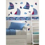 WallPops Regatta Stripes Wall Decals