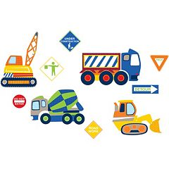 WallPops Construction Zone Wall Decals