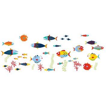 WallPops Fish Tales Wall Decals