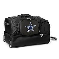 Dallas Cowboys 27-in. Wheeled Drop-Bottom Duffel Bag