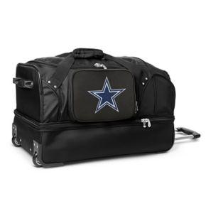 Dallas Cowboys 27-in. Wheeled Drop-Bottom Duffel Bag