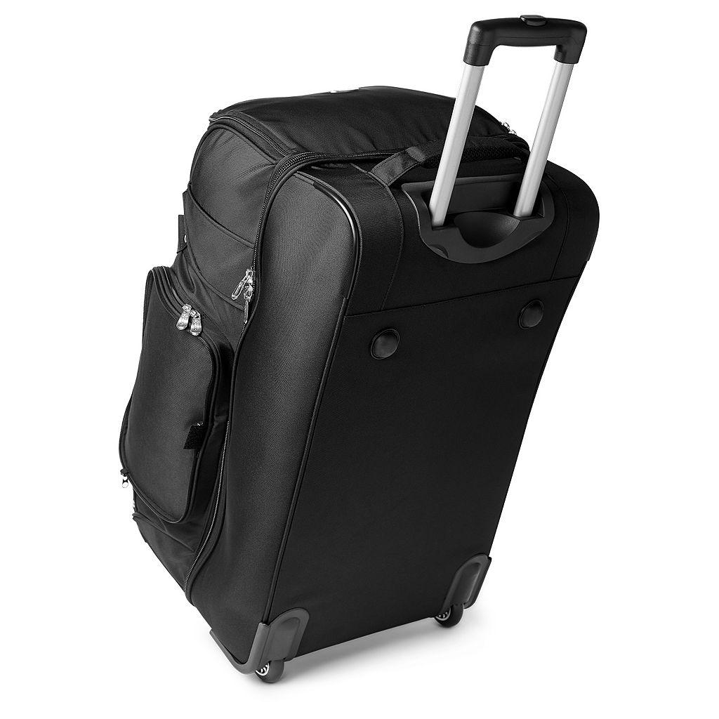 Houston Texans 27-in. Wheeled Drop-Bottom Duffel Bag