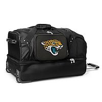 Jacksonville Jaguars 27-in. Wheeled Drop-Bottom Duffel Bag