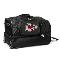 Kansas City Chiefs 27-in. Wheeled Drop-Bottom Duffel Bag
