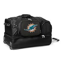 Miami Dolphins 27-in. Wheeled Drop-Bottom Duffel Bag