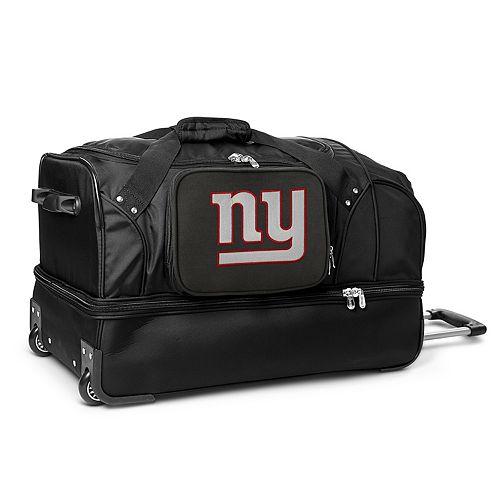New York Giants 27-in. Wheeled Drop-Bottom Duffel Bag