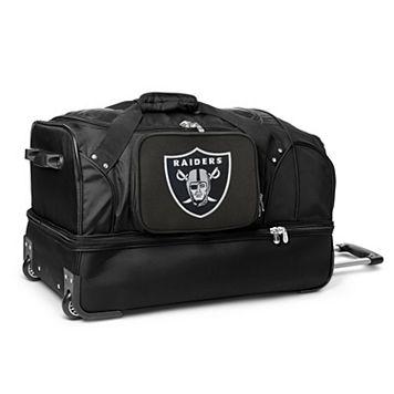 Oakland Raiders 27-in. Wheeled Drop-Bottom Duffel Bag