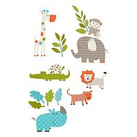 WallPops Let's Go On Safari Wall Decals