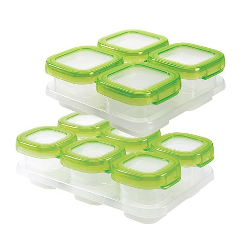 Oxo Tot Baby Blocks 12 Pc Freezer Storage Container Set