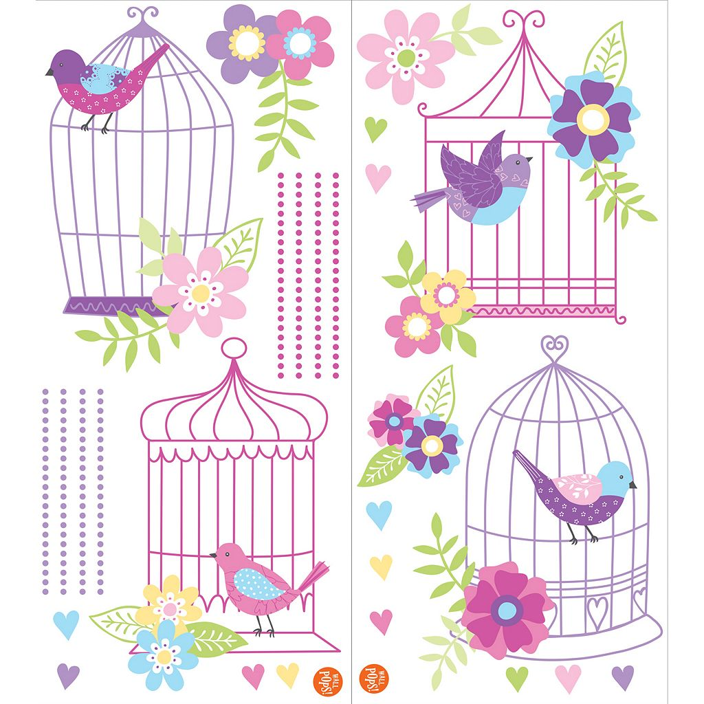 WallPops Chirping the Day Away Wall Decals