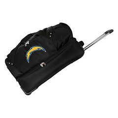 San Diego Chargers 27 in Wheeled Drop-Bottom Duffel Bag