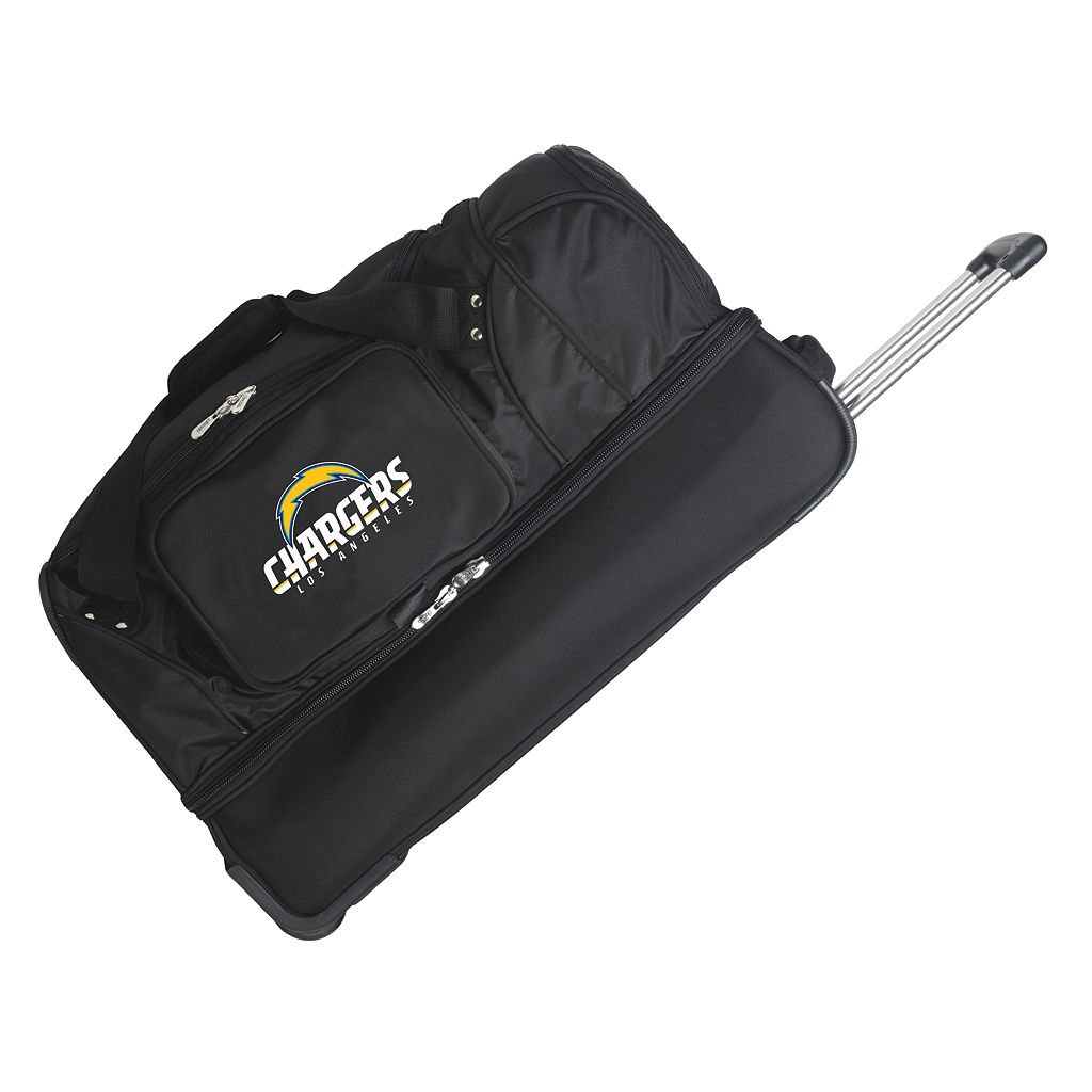 San Diego Chargers 27-in. Wheeled Drop-Bottom Duffel Bag