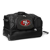 San Francisco 49ers 27-in. Wheeled Drop-Bottom Duffel Bag