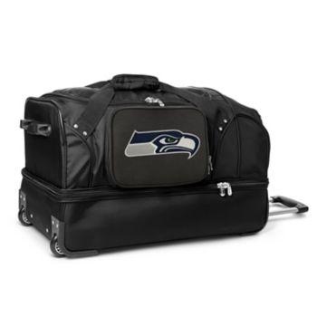 Seattle Seahawks 27-in. Wheeled Drop-Bottom Duffel Bag