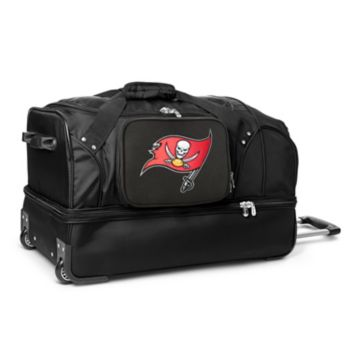 Tampa Bay Buccaneers 27-in. Wheeled Drop-Bottom Duffel Bag