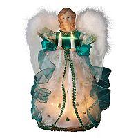 Kurt S. Adler 12-in. Lighted Irish Angel Christmas Tree Topper