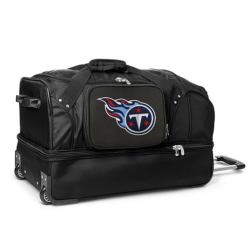 Tennessee Titans 27-in. Wheeled Drop-Bottom Duffel Bag