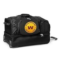 Washington Redskins 27 in Wheeled Drop-Bottom Duffel Bag