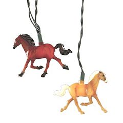 Kurt S. Adler Running Horse Christmas Light Set - Indoor & Outdoor