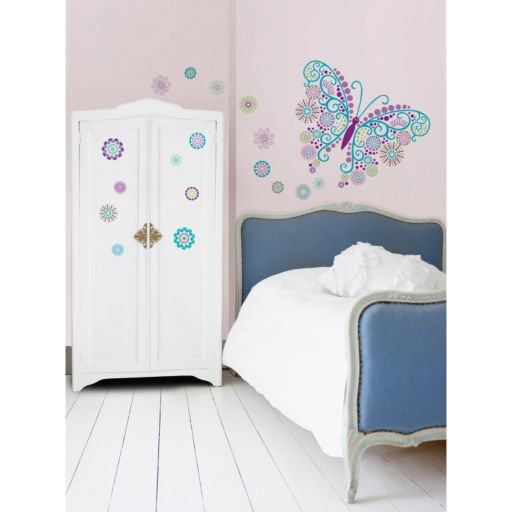 WallPops Social Butterfly Wall Decals