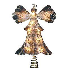 Kurt Adler 10-in. LED Angel Christmas Tree Topper