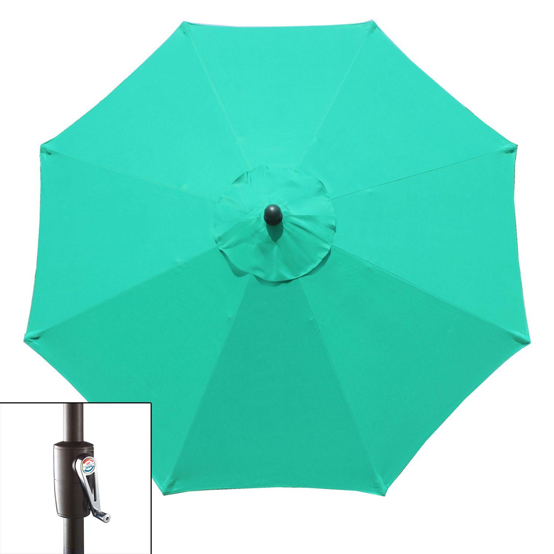 9 Ft Crank And Tilt Patio Umbrella