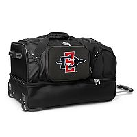 San Diego State Aztecs 27-in. Wheeled Drop-Bottom Duffel Bag