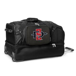 San Diego State Aztecs 27-in. Wheeled Drop-Bottom Duffel Bag