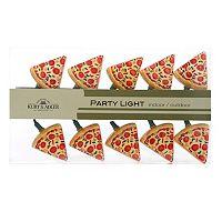 Kurt S. Adler 10-Light Pizza Christmas Light Set - Indoor & Outdoor