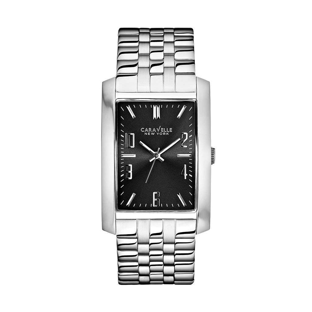Caravelle New York by Bulova Men's Stainless Steel Watch - 43A118K