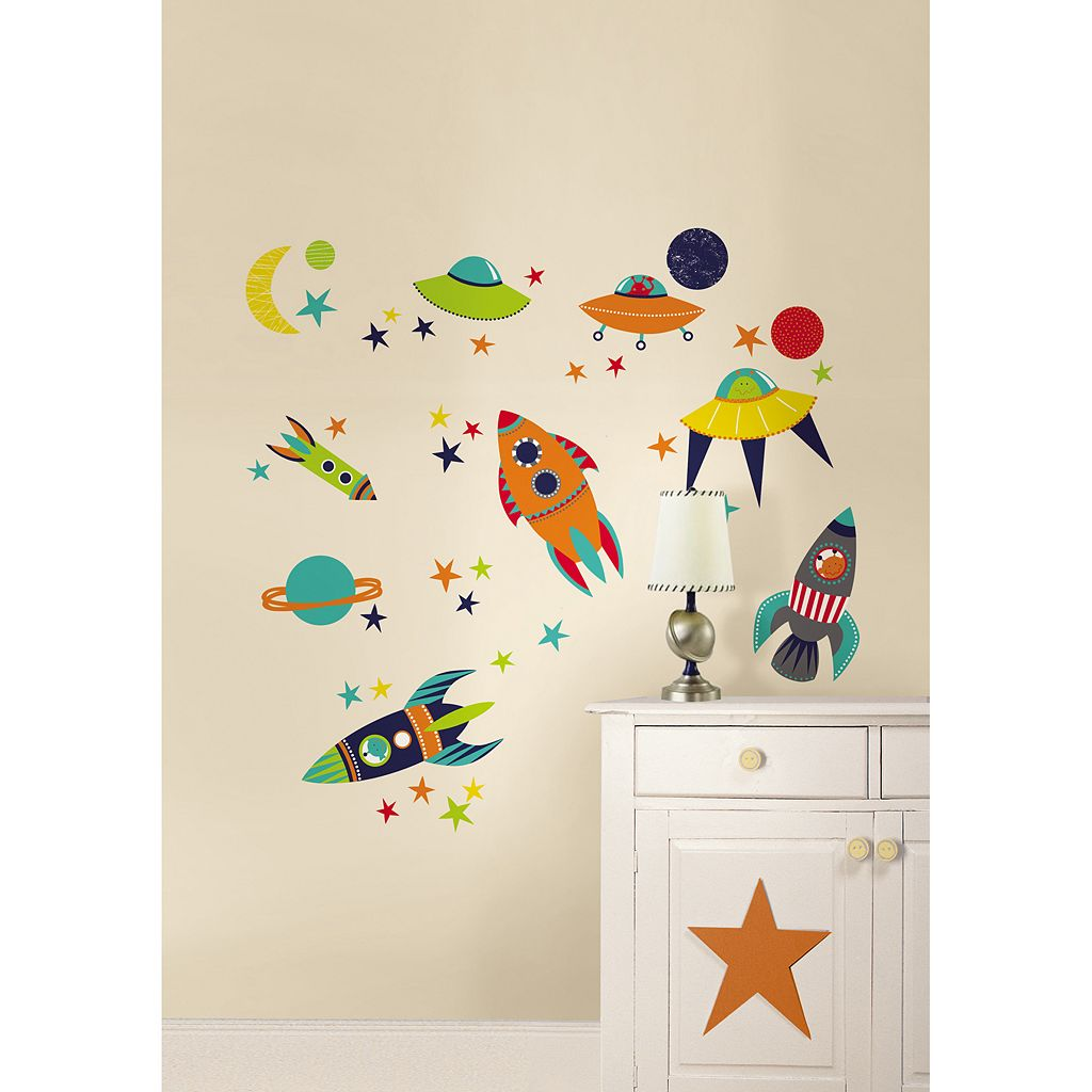 WallPops Blast Off Wall Decals